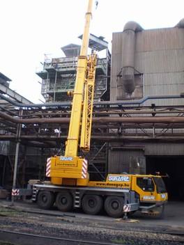 На «ММК им. Ильича» ведутся шефмонтажные работы по сборке оборудования для пылеочистных сооружений конвертера № 2