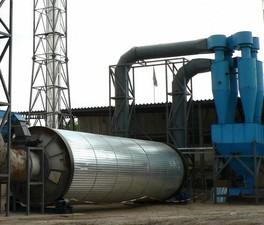 Реконструкция  газоочисток сушильных барабанов участка подготовки сырых материалов ПАО «Днепроспецсталь».