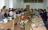 ГП «УкрНТЦ «Энергосталь» принял участие в работе украинско-азербайджанского круглого стола с докладом-презентацией о направлениях деятельности и достижениях Центра, возможных аспектах взаимовыгодного сотрудничества с предприятиями Азербайджана