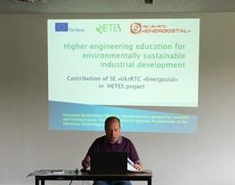 "SE ""UKRRTC ""ENERGOSTAL"" took part in the 7-th coordinating meeting held in Ghent (Belgium)"