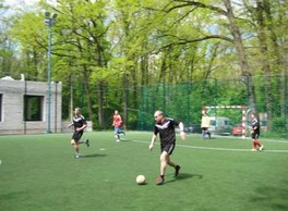 """THE SPORTS LIFE NEWS. On the base of """"Spartak"""" in """"Sokolniki"""" the """"CUP OF TRADE UNIONS - 2017"""" mini-football tournament took place on may 20, 2017."""
