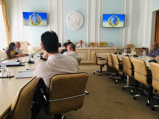 "State Enterprise ""Ukrainian research and technology center of metallurgy industry ""Energostal"" took part in the discussion of the initiative ""Kharkov Scientific Platform"" organized by the North-Eastern Scientific Center of the National Academy of Sciences"